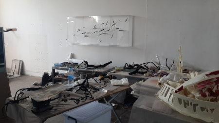 A Look Into The Artist Studio of Maya Kramer and Jin Shan