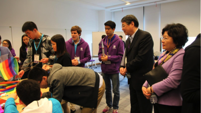 Prospective Students Get Their First Taste of NYU Shanghai