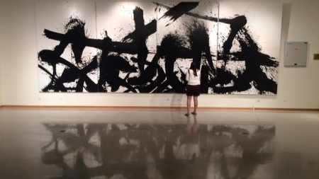 Opening of the NYU Shanghai Art Gallery features Qin Feng