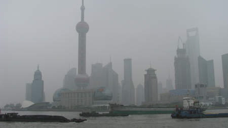 Creating Beauty Out of Shanghai's Pollution